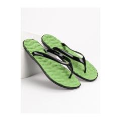 Dámske zelené žabky  - 913NL001W-GR