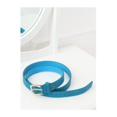 Dámsky modrý opasok
