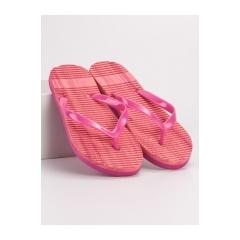 Dámske ružové žabky  - B8914P
