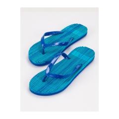 Dámske modré žabky  - B8914BL