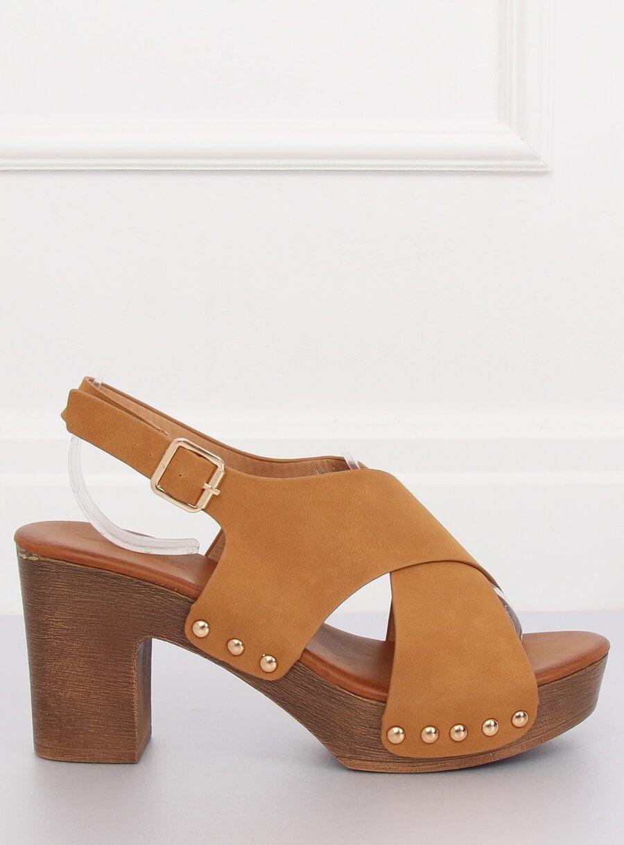 c2e8e9f65 Dámske hnedé sandále - D-131 | dawien.sk