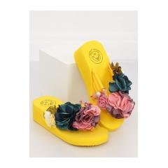 Dámske žlté žabky na penovej podrážke - FM5050