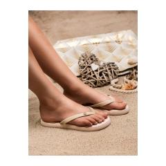Dámske béžové plážové žabky  - BT9905BE