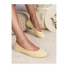 Dámske žlté balerínky - JB016-26Y