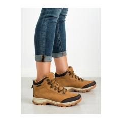 Dámske hnedé trekingové topánky MCKEYLOR  - WAL19-12621C