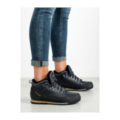 Dámske modré zateplené trekingové topánky MCKEYLOR - REF19-9751N