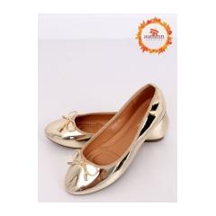 Dámske zlaté balerínky - 9988-139