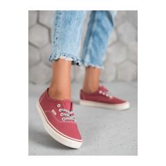 Dámske červené tenisky  - A8879BLUSH