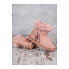 Dámske ružové snehule - LV68P