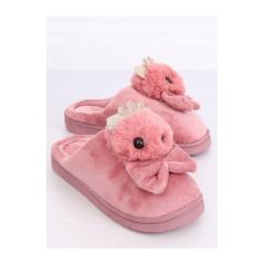 Dámske ružové šľapky - DD112