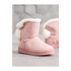 Dámske ružové snehule - J60P