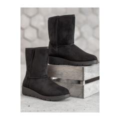 Dámske čierne snehule  - K1838403NE