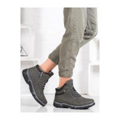 Dámske šedé trekingové topánky MCKEYLOR - OCA20-2156G