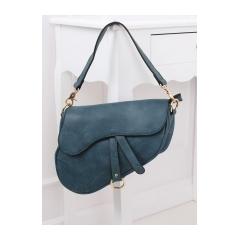 Dámska modrá kabelka