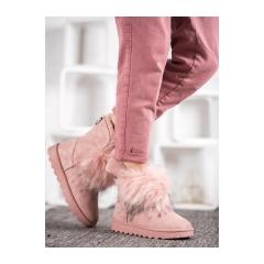 Dámske ružové snehule - BK900P