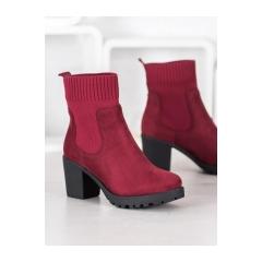 Dámske vínové členkové topánky - M370WI