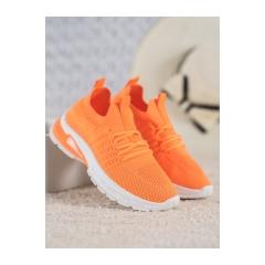 Dámske oranžové SNEAKERSY  - CB857OR