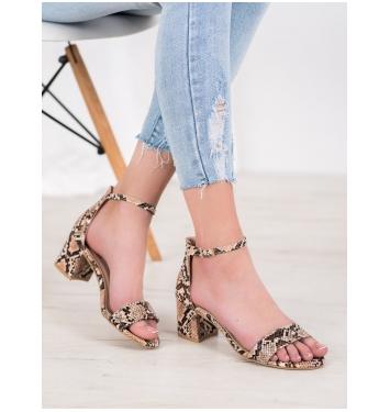 Dámske sandále SNAKE PRINT - M306KH