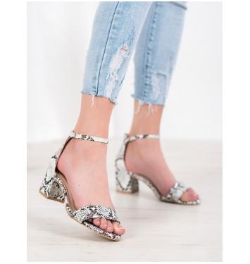 Dámske sandále SNAKE PRINT - M306B