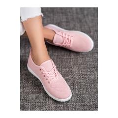 Dámske ružové tenisky  - 1026P/P