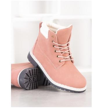 Dámske ružové workery  - H88P-W