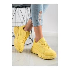 Dámske žlté SNEAKERSY - DML902Y