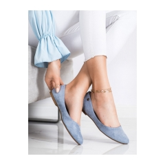 Dámske modré balerínky - BL622BL