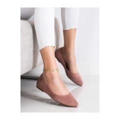 Dámske ružové balerínky  - BL622P