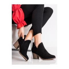 Dámske čierne členkové topánky  - DBT2075/21B