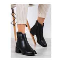 Dámske čierne členkové topánky - DBT1549/20B