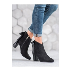 Dámske čierne členkové topánky - DBT939/19B