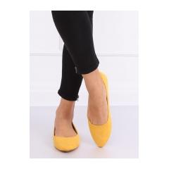 Dámske žlté balerínky - CC212P