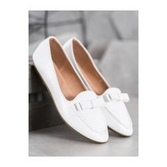 Dámske biele lordsy  - A8637W