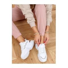 Dámske biele tenisky - 9933