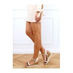 Dámske béžové sandále - A89832