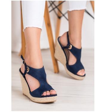 Dámske modré sandále - GD-NF-08N