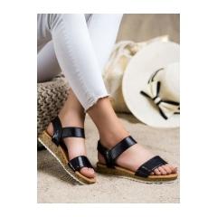 Dámske zlaté sandále - 38853B