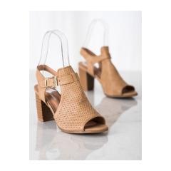 Dámske béžové sandále - S-919BE
