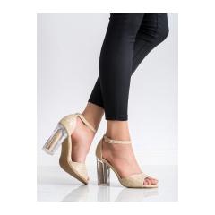 Dámske béžové sandále - S-869BE