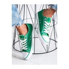 Dámske zelené tenisky NEW AGE  - 083GR