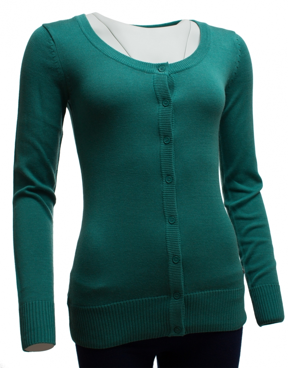 8c1bf3c270fb Dámsky zelený sveter