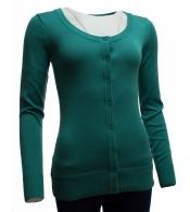 Dámsky zelený sveter