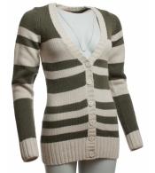 Pruhovaný sveter
