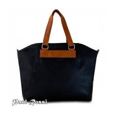 Dámska kabelka Paul Rosi DW1149 čierna/hnedá