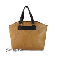 Dámska kabelka Paul Rosi DW1147 hnedá/čierna