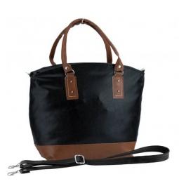 Dámska kabelka DW1134 čierna/camel